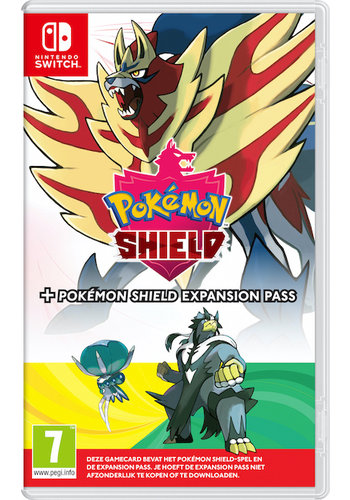 Pokemon Shield + Expansion Pass - Nintendo Switch