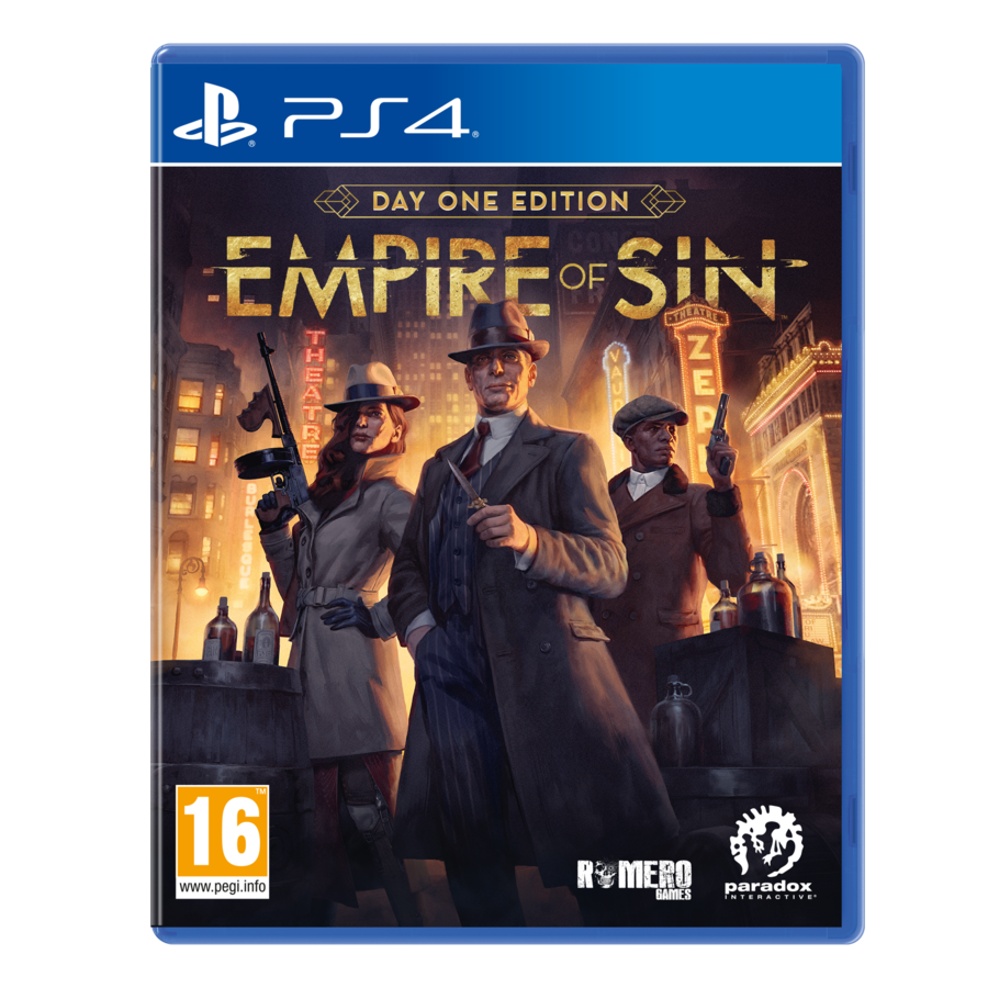 Empire of Sin - Day One Edition - Playstation 4