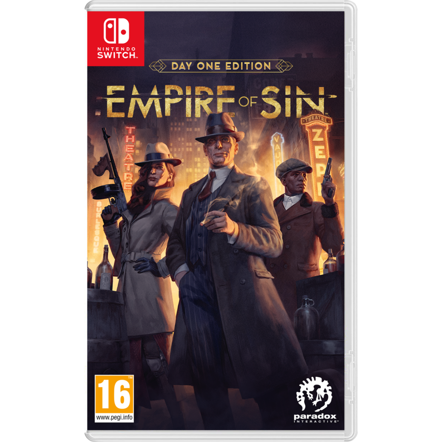 Empire of Sin - Day One Edition - Nintendo Switch