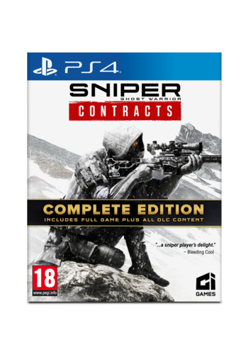 Sniper Ghost Warrior Contracts - Complete Edition - Playstation 4