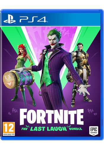 FORTNITE THE LAST LAUGH BUNDLE - Playstation 4