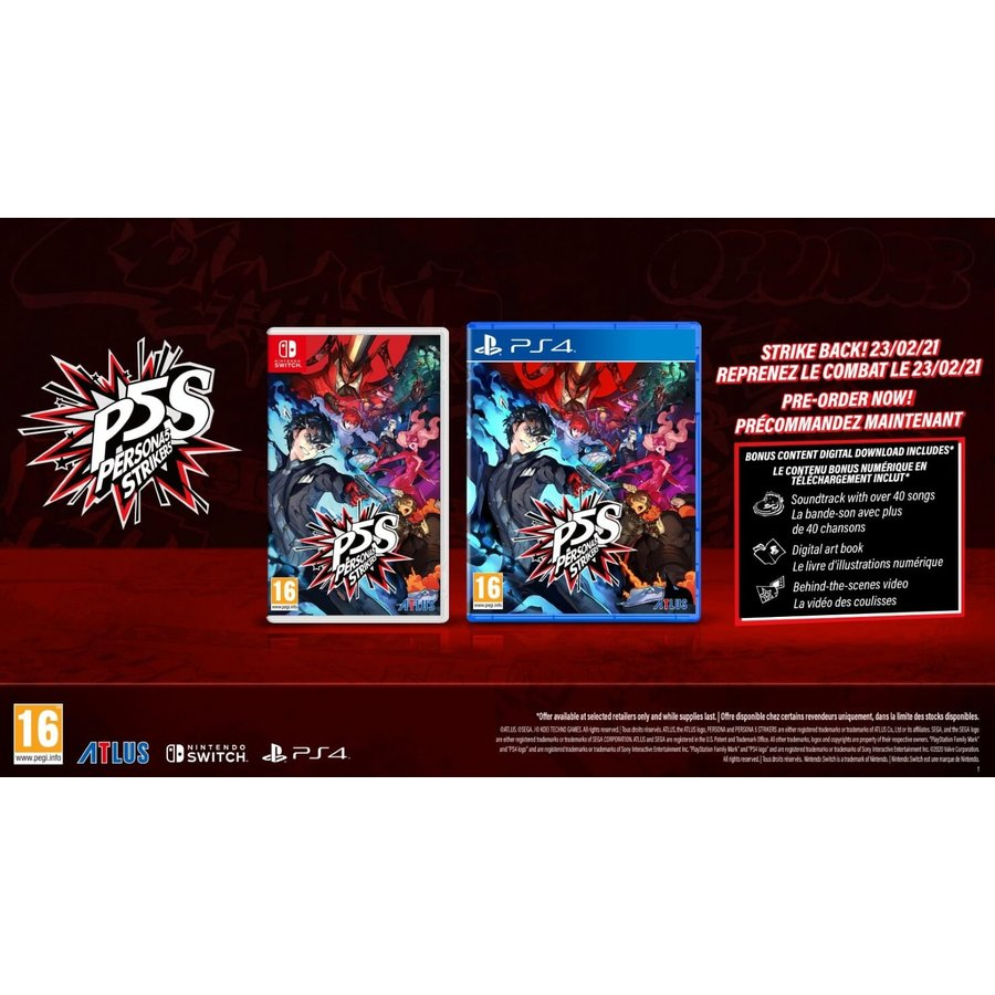 Persona 5 Strikers Limited Edition - Playstation 4