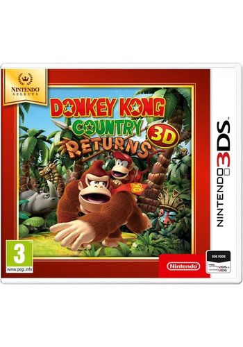Donkey Kong Country Returns 3D (Selects) - Nintendo 3DS