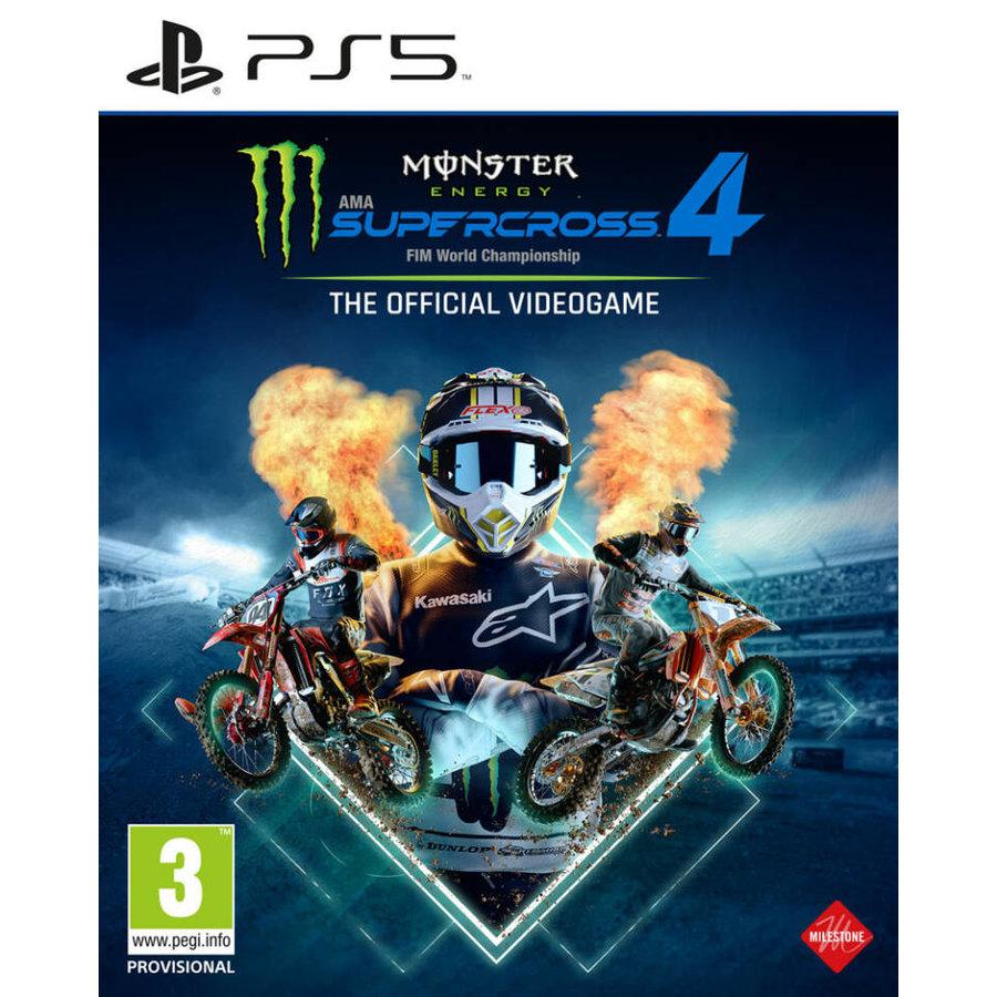 Monster Energy Supercross 4 - Playstation 5