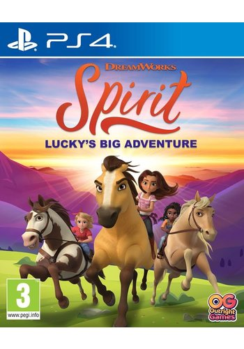 DreamWorks Spirit Lucky's Big Adventure - Playstation 4