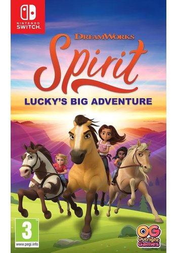 DreamWorks Spirit Lucky's Big Adventure - Nintendo Switch