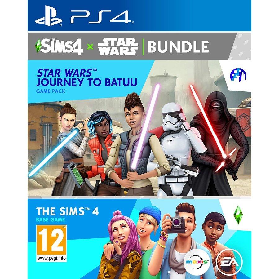 De Sims 4: Star Wars Journey to Batuu Bundle - Playstation 4