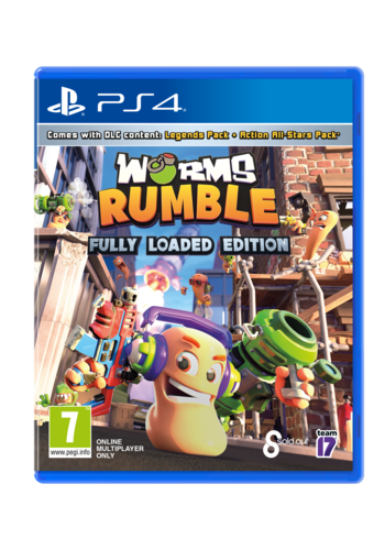 WORMS Rumble Fully Loaded - Playstation 4