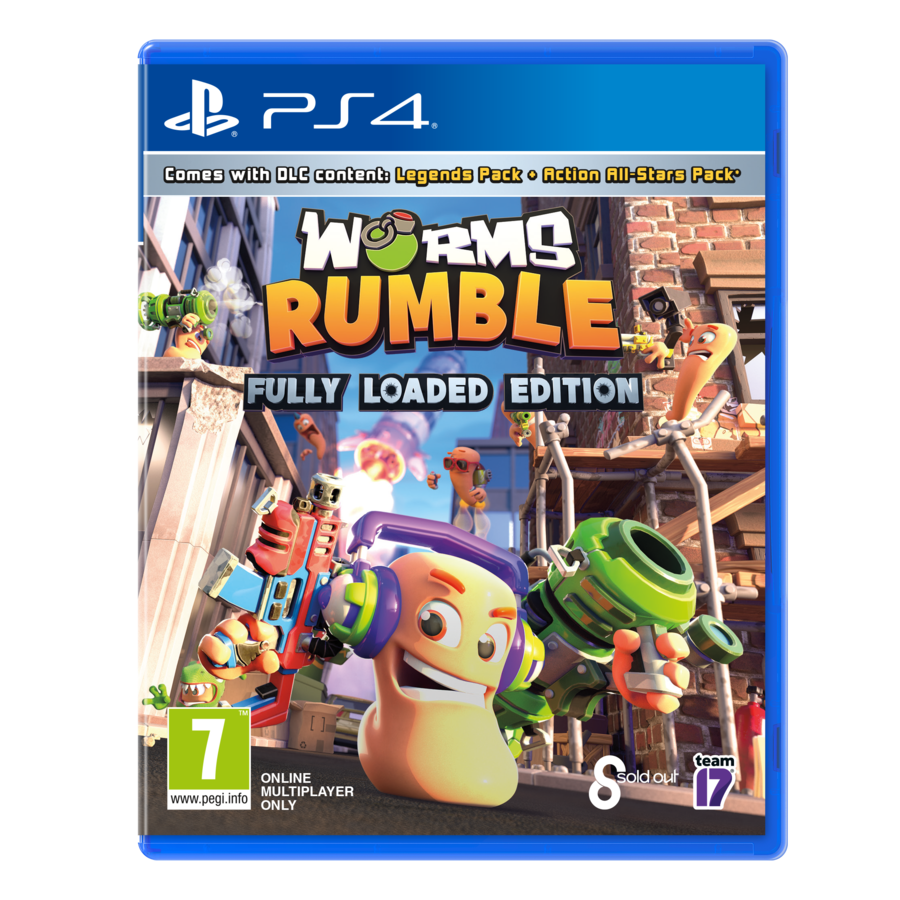 WORMS Rumble - Playstation 4