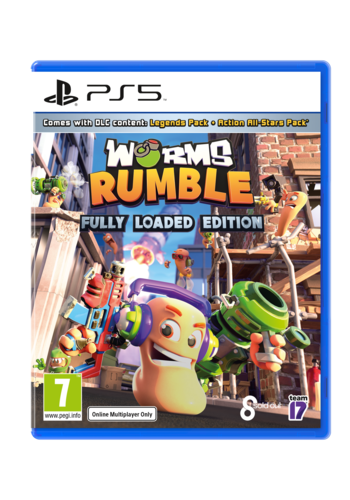 WORMS Rumble Fully Loaded - Playstation 5