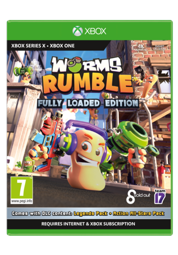 WORMS Rumble Fully Loaded  - Xbox One & Xbox Series X