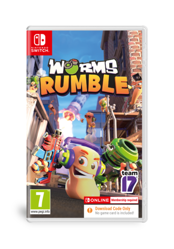 WORMS Rumble (Code in Box) - Nintendo Switch