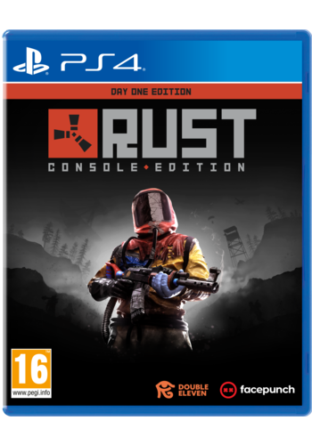 RUST - Day One Edition (incl. Future Weapons & Tools DLC) - Playstation 4