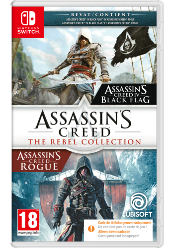 ASSASSIN'S CREED REBEL COLLECTION SWITCH (CODE IN BOX) - Nintendo Switch