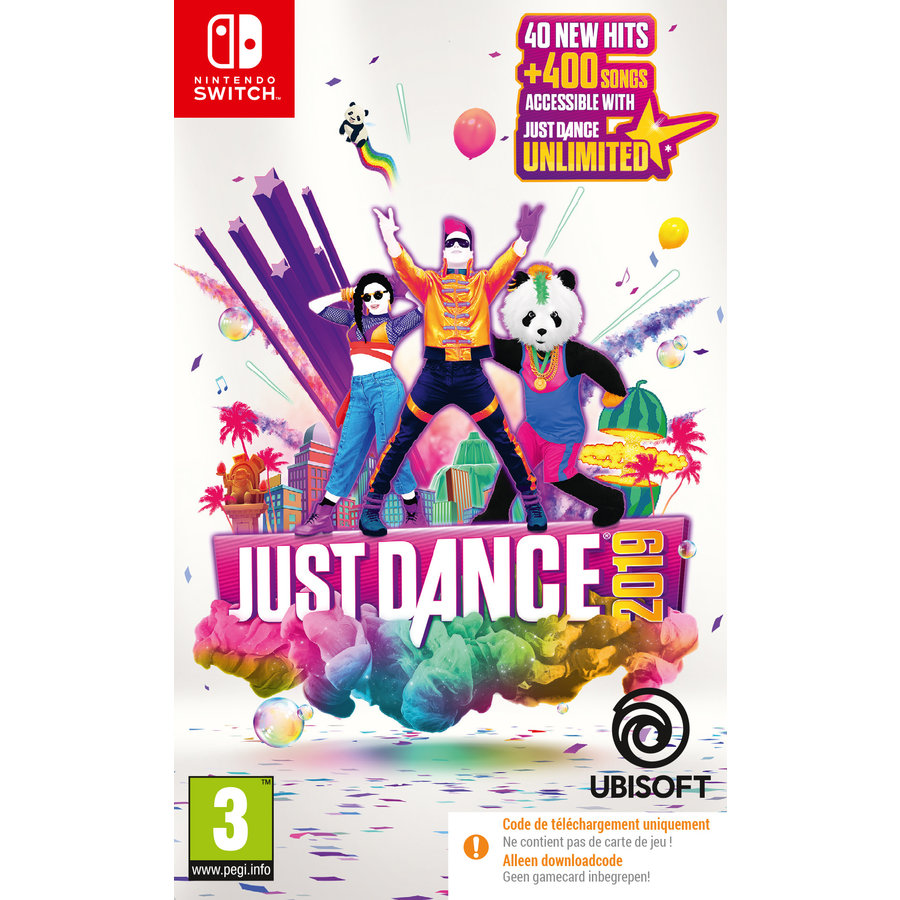 JUST DANCE 2019 SWITCH (CODE IN BOX) - Nintendo Switch