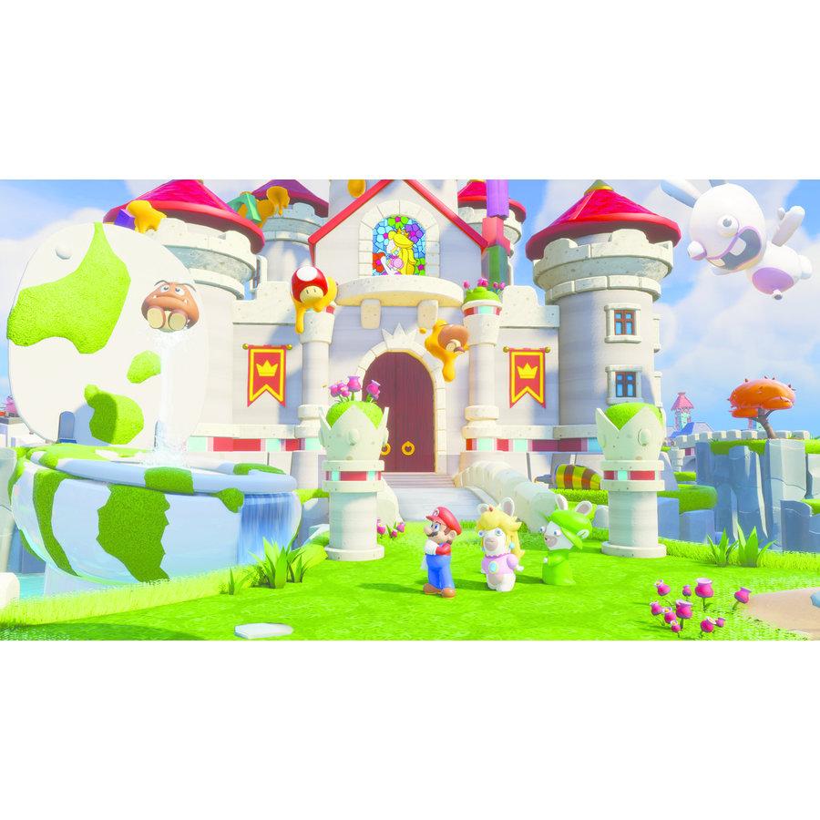 MARIO + RABBIDS KINGDOM BATTLE SWITCH (CODE IN BOX) - Nintendo Switch