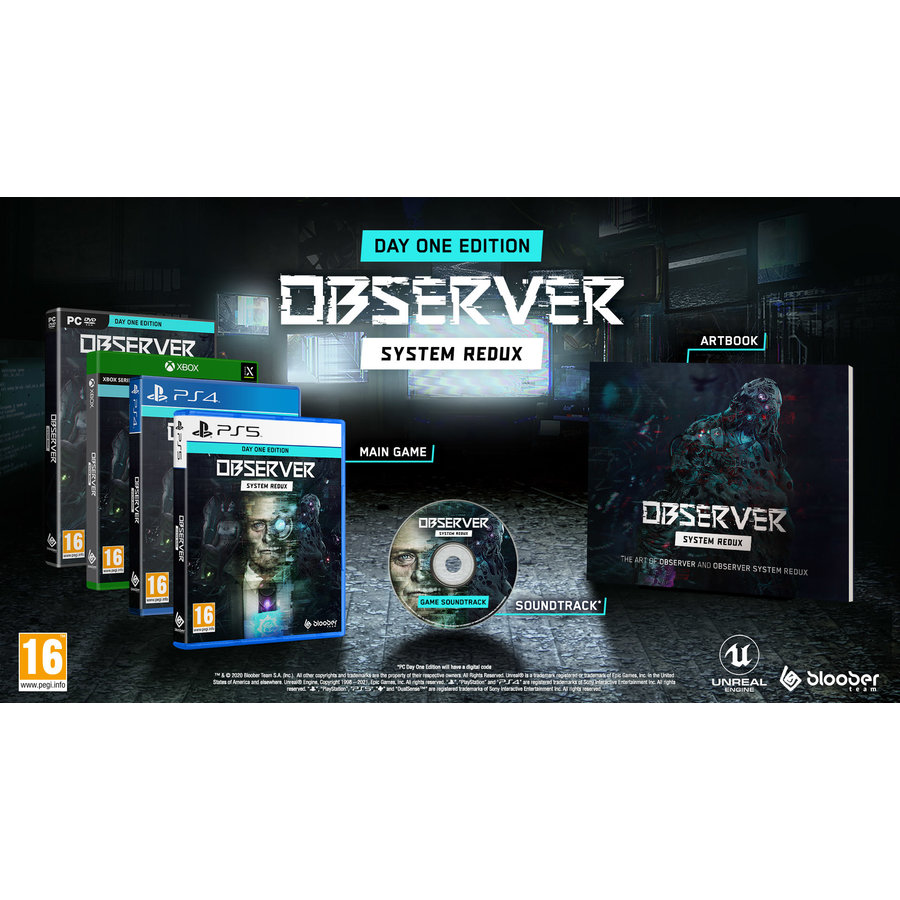 Observer System Redux - Day One Edition - Xbox One & Series X