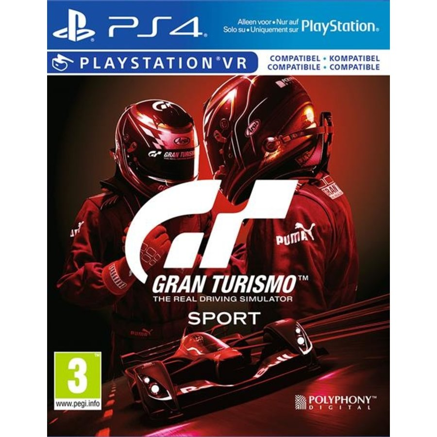 Gran Turismo: Sport - Spec II Edition - Playstation 4