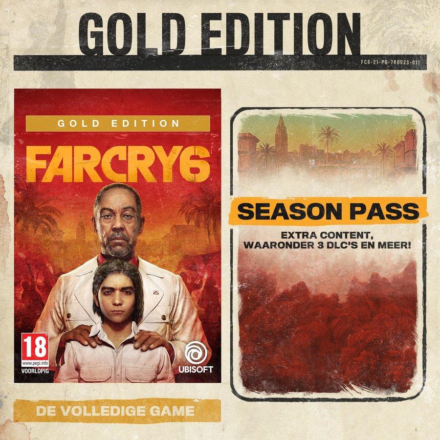 Far Cry 6 Gold Edition + Pre-Order Bonus  - Playstation 4