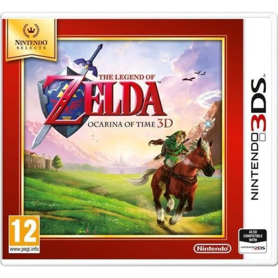 The Legend of Zelda: Ocarina of Time 3D (Selects) - Nintendo 3DS