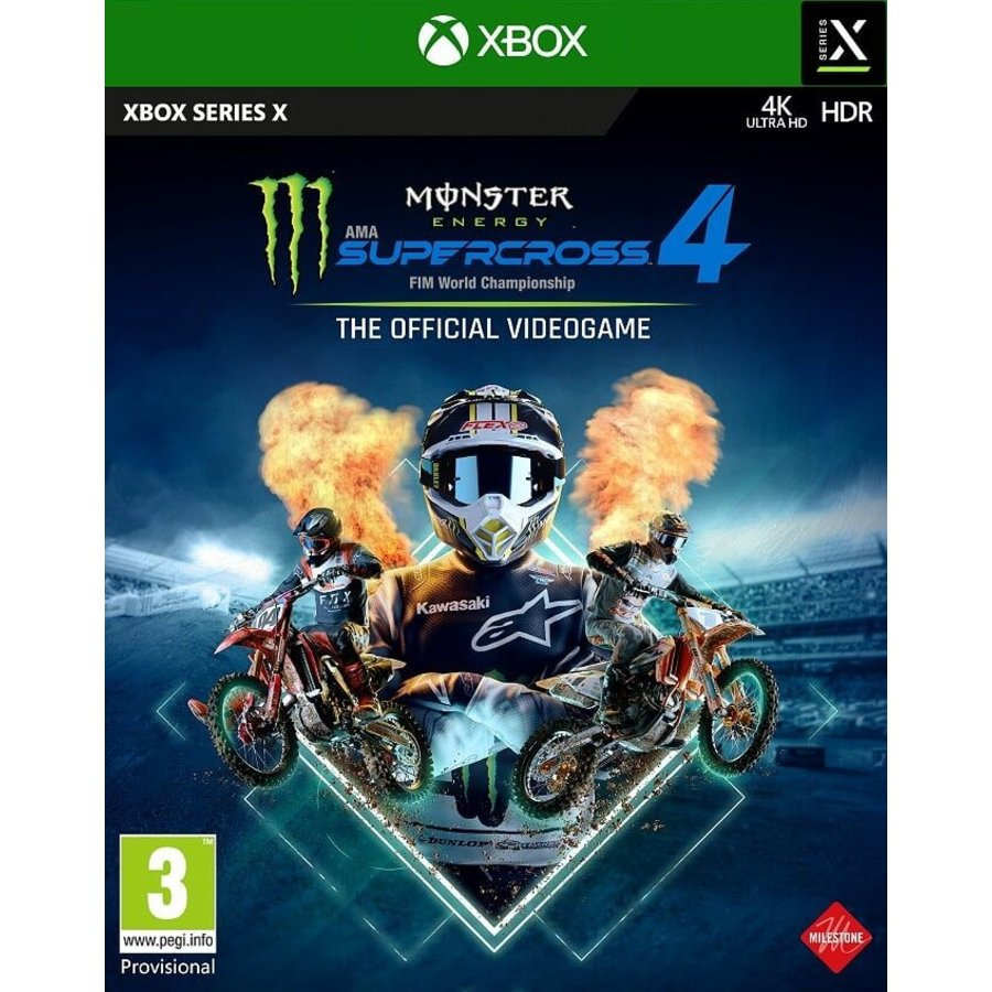 Monster Energy Supercross 4 - Xbox Series X