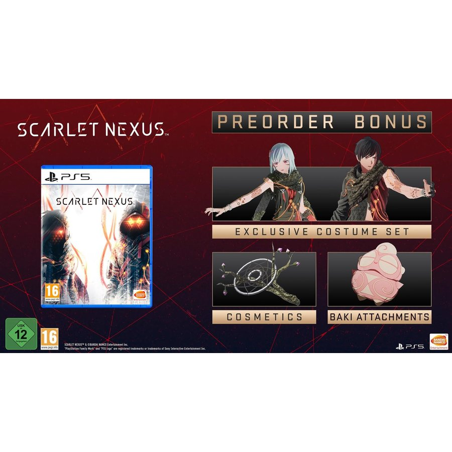 Scarlet Nexus + Pre-Order Bonus - Playstation 5