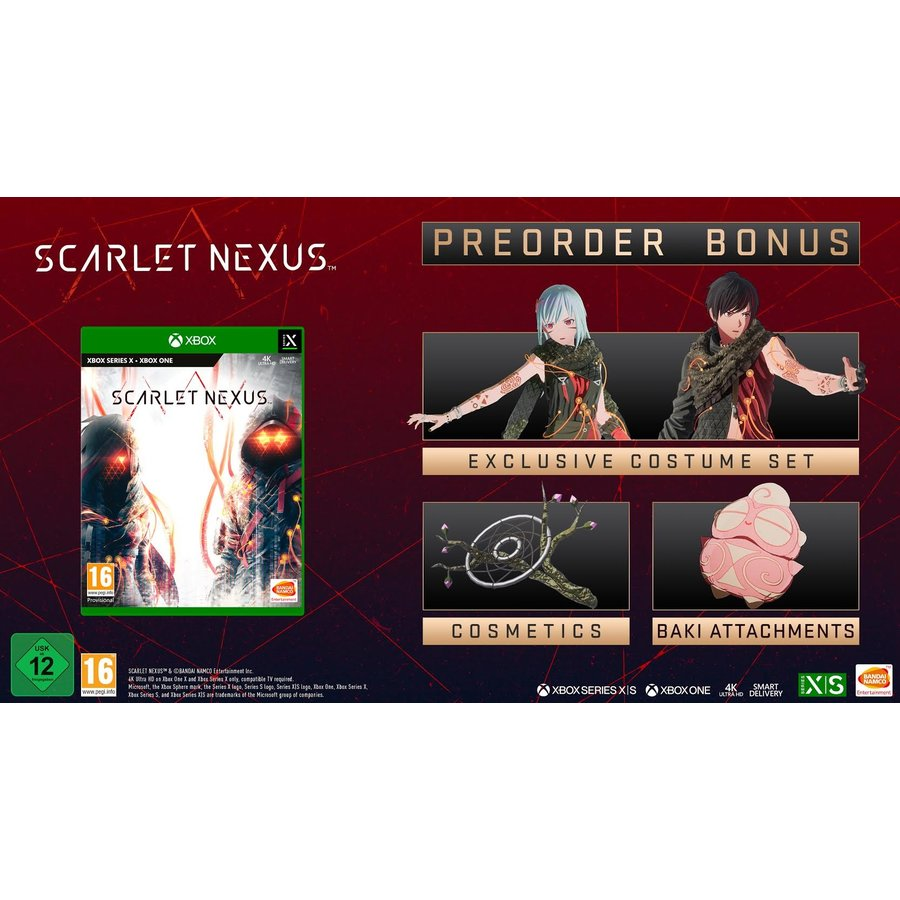 Scarlet Nexus + Pre-Order Bonus - Xbox One & Series X
