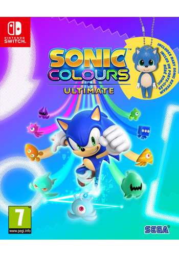 Sonic Colours Ultimate - Day One Edition incl. Baby Sonic Keyring - Nintendo Switch