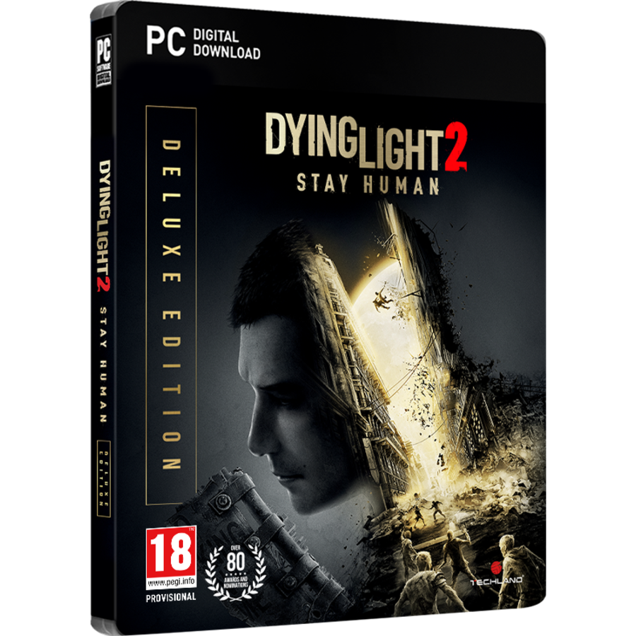 Dying Light 2 - Stay Human Deluxe Edition (Code in Box) - PC