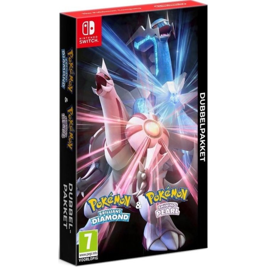 Pokémon Brilliant Diamond & Shining Pearl Dubbelpakket - Nintendo Switch