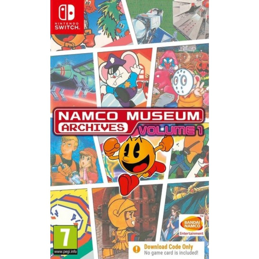 Namco Museum Archives Volume 1 (Code in a Box) - Nintendo Switch