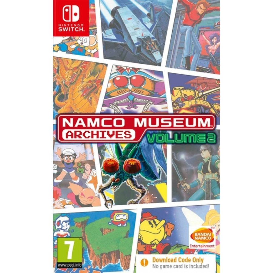 Namco Museum Archives Volume 2 (Code in a Box) - Nintendo Switch