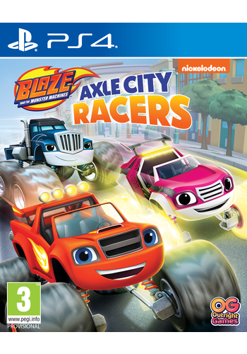 Blaze and the Monster Machines: Axle City Racers - Playstation 4