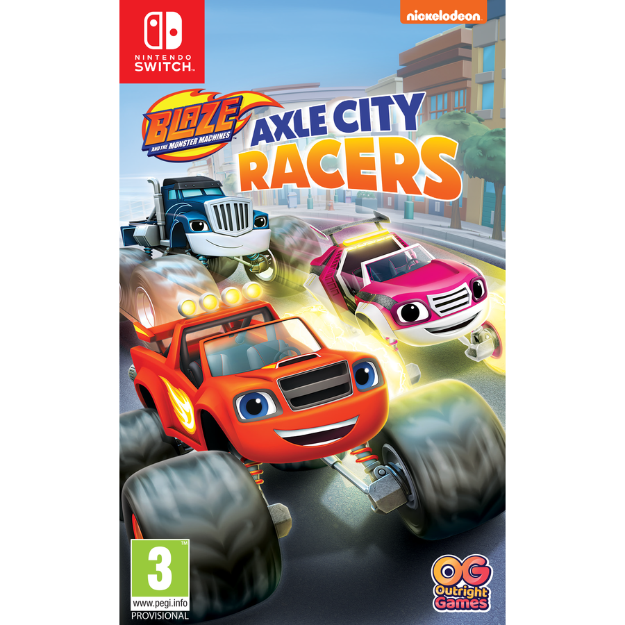 Blaze and the Monster Machines: Axle City Racers - Nintendo Switch
