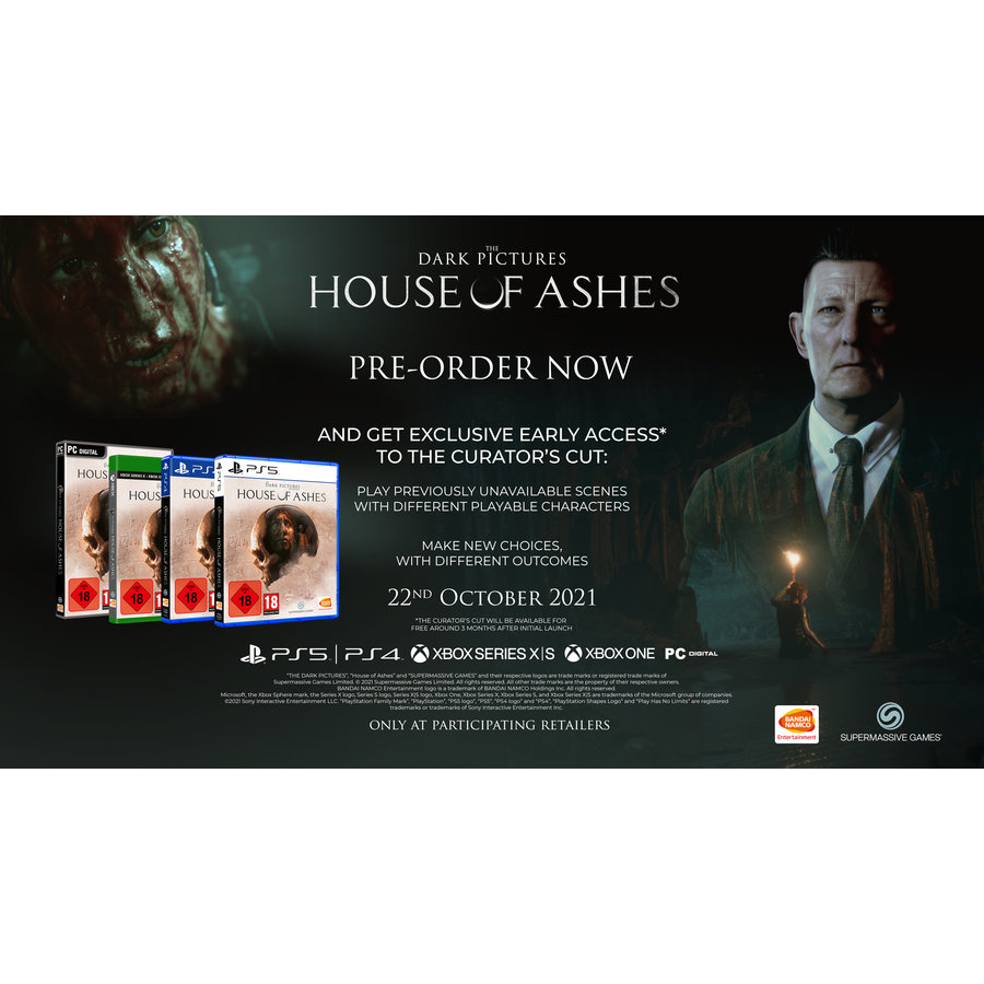 The Dark Pictures Anthology: House of Ashes + Pre-order Bonus - Playstation 4