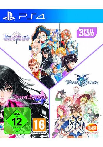 Tales of Zestiria + Tales of Berseria + Tales of Vesperia Definitive Edition - Playstation 4