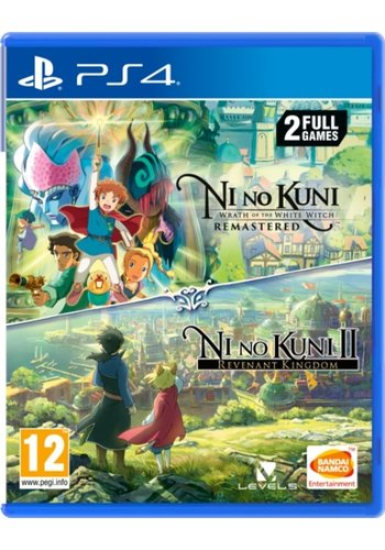 Ni No Kuni Wrath of the White Witch Remastered + Ni No Kuni II: Revenant Kingdom - Playstation 4