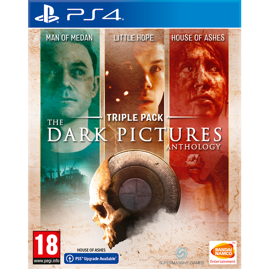 The Dark Pictures Anthology Triple Pack - Playstation 4