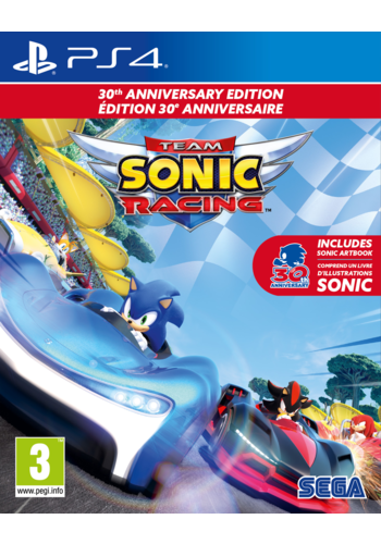 Team Sonic Racing - 30th Anniversary Edition - Playstation 4