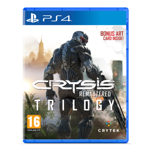 Crysis Trilogy Remastered - Playstation 4