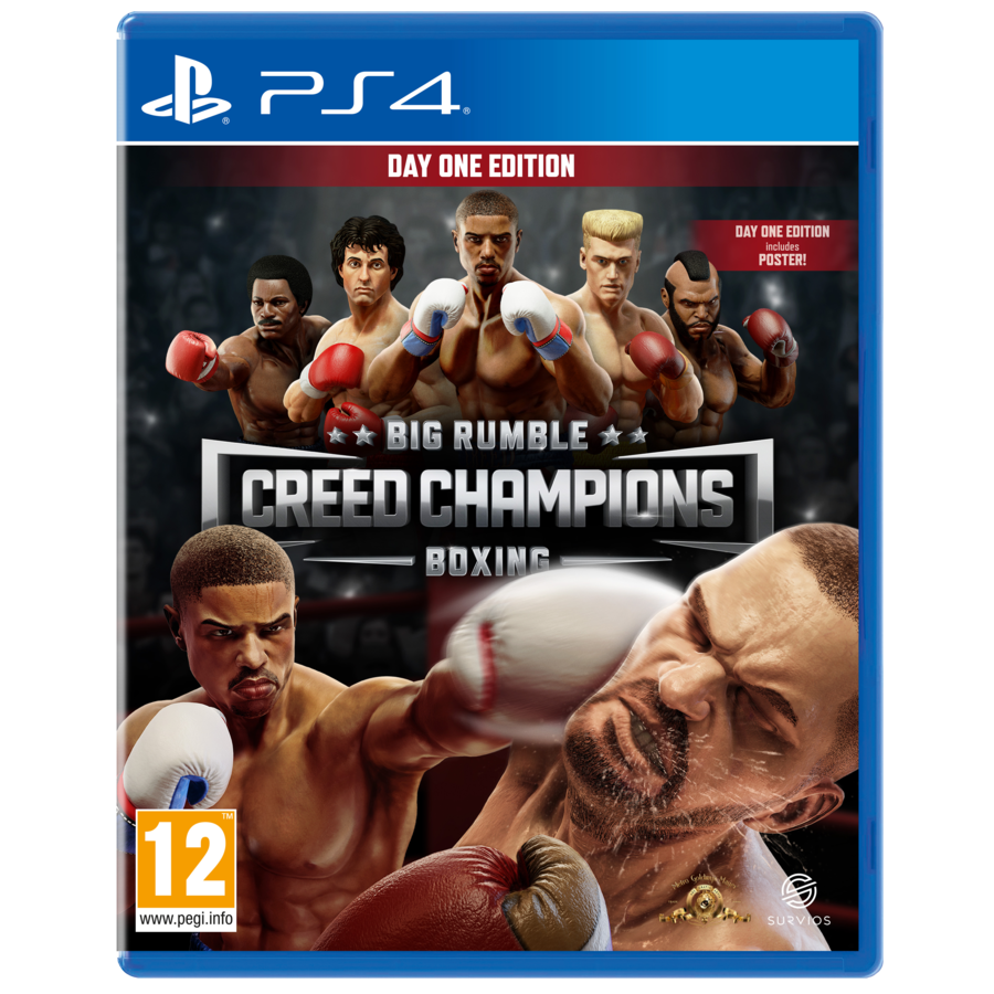 Big Rumble Boxing - Creed Champions Day One Edition - Playstation 4