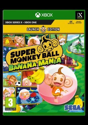 Super Monkey Ball Banana Mania - Anniversary Edition - Xbox One & Series X