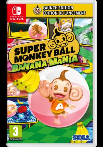 Super Monkey Ball Banana Mania - Launch Edition - Nintendo Switch