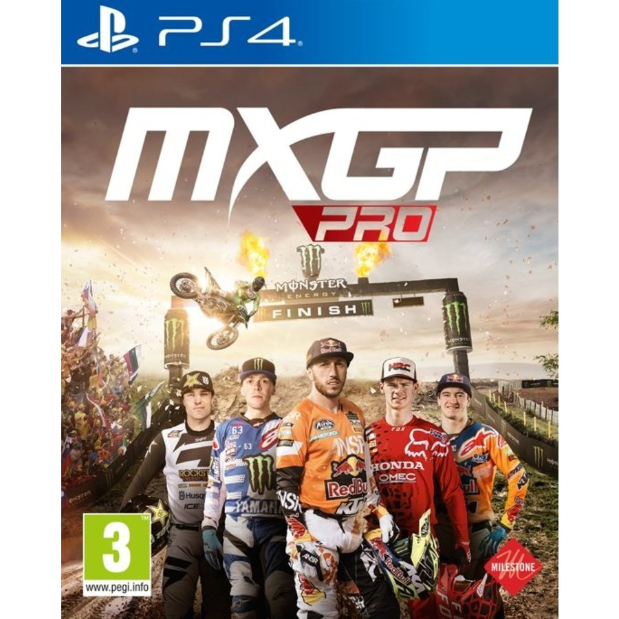 MXGP Pro: The Official Motocross Videogame - Playstation 4