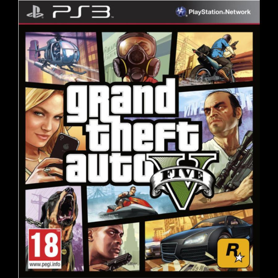 Grand Theft Auto V (GTA 5) - Playstation 3