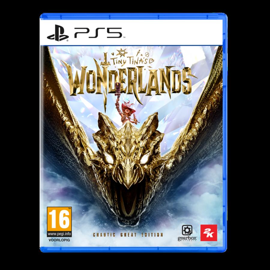 Tiny Tina's Wonderlands + Pre-order DLC - Chaotic Great Edition -  Playstation 5
