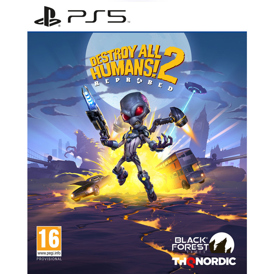 Destroy All Humans 2 - Reprobed - Playstation 5