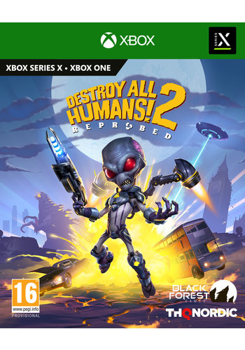 Destroy All Humans 2 - Reprobed - Xbox One & Series X