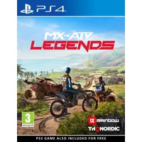 MX vs ATV Legends - Playstation 4 - Inclusief Gratis PS5 versie