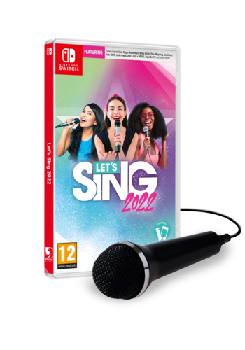 Let's Sing 2022 + 1 Microphone  - Nintendo Switch